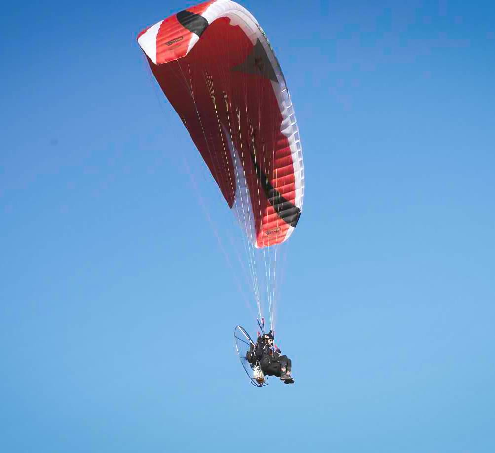 Learning to fly a Paraglider in Australia